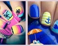 6 lindas unhas inspiradas no mar