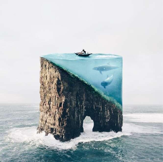 Imagens surreais criadas por artista portuguesa