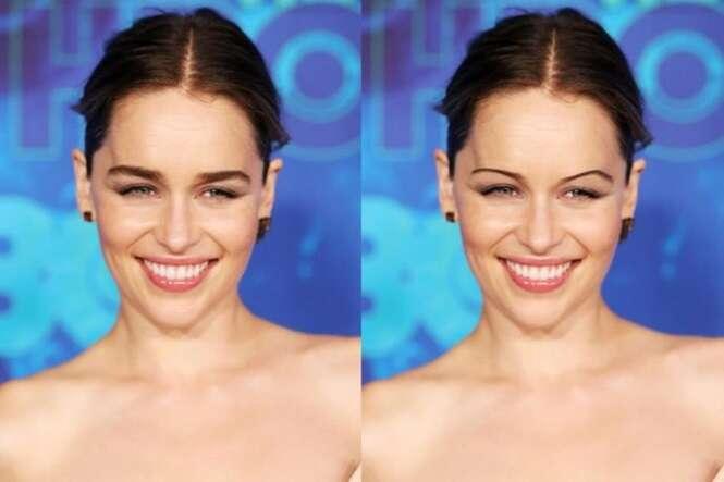 Assim seriam 20 famosas se fizessem as sobrancelhas como se usava nos anos 90