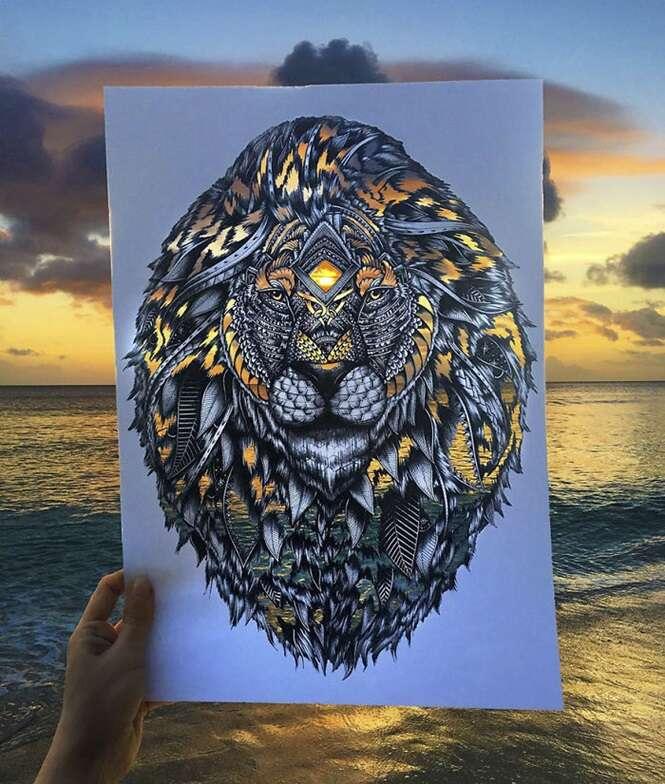 Desenhos de animais feitos com detalhes incríveis