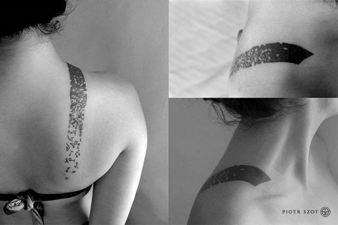 Tatuagens Blackwork, um estilo que não é para todos