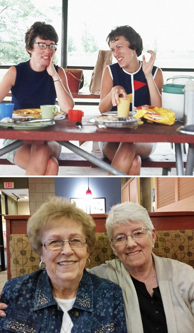 Fotos incríveis de amizades de longa data