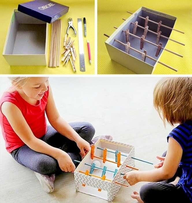 Brinquedos que você mesmo (a) pode fazer para seus filhos, garantindo a diversão da garotada