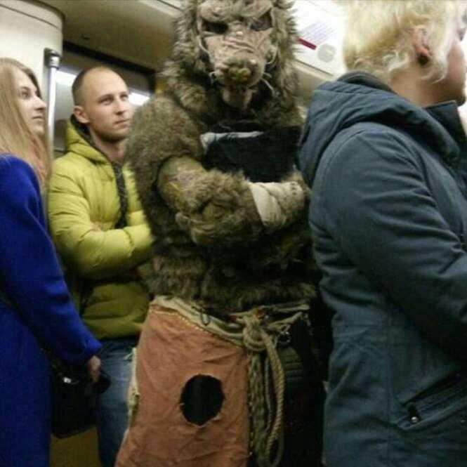 Coisas bizarras que só são vistas no metrô da Rússia