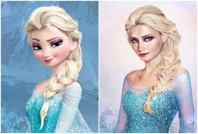 Como seriam princesas da Disney se fossem reais