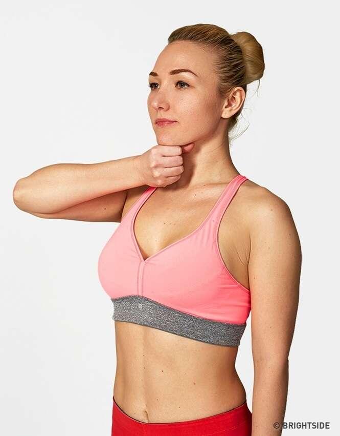 Os exercícios mais simples para conseguir um busto bonito e atraente