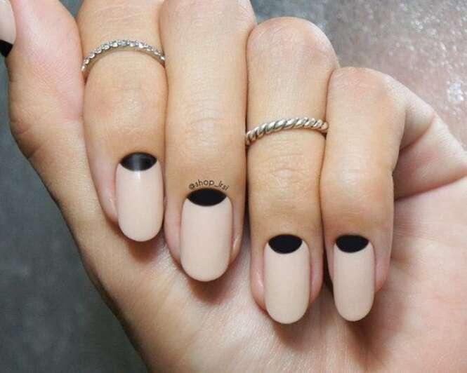 Opções para ter unhas minimalistas e elegantes