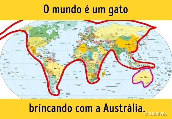 Mapas que não aprendemos na escola