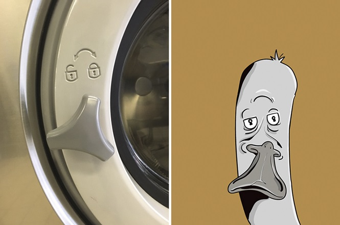 Desenhos divertidos criados por artista que tem pareidolia