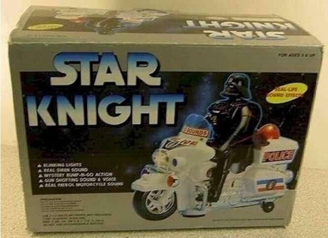 Brinquedos mais falsos que o nariz de Michael Jackson