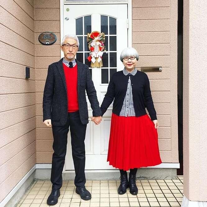 Casais idosos que lhe inspirarão a envelhecer com estilo e elegância