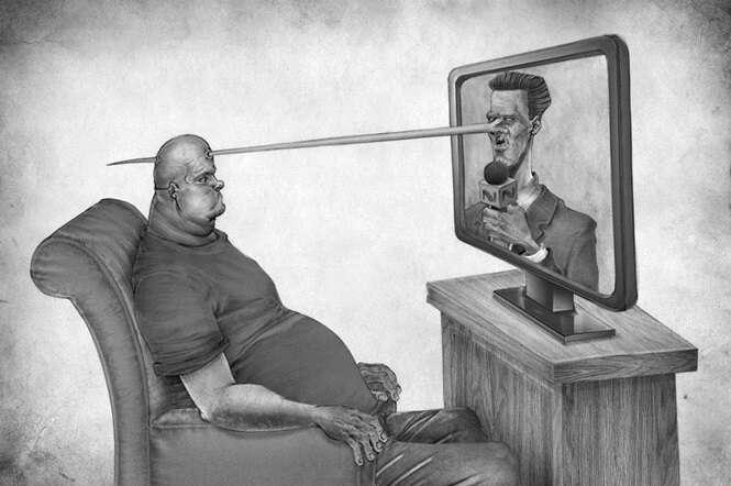 Imagens provocadoras a respeito da nossa sociedade