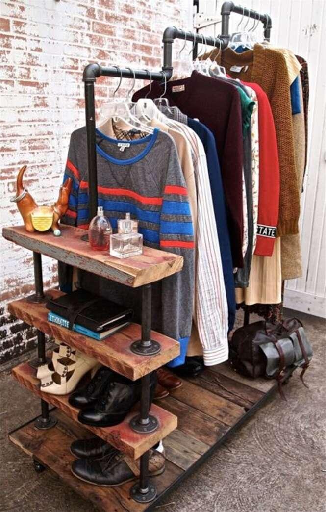 Ideias para criar um armário minimalista gastando pouco