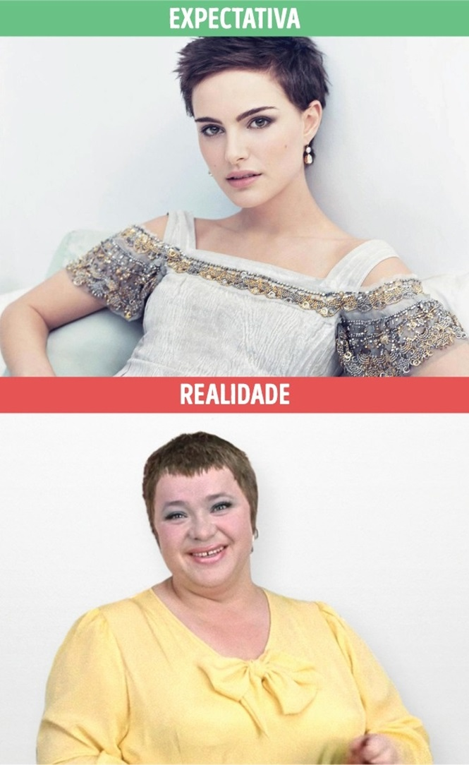 Mundo feminino: expectativa X realidade
