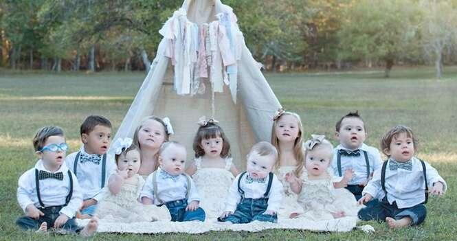 Esta fotógrafa faz belas imagens de crianças com Síndrome de Down