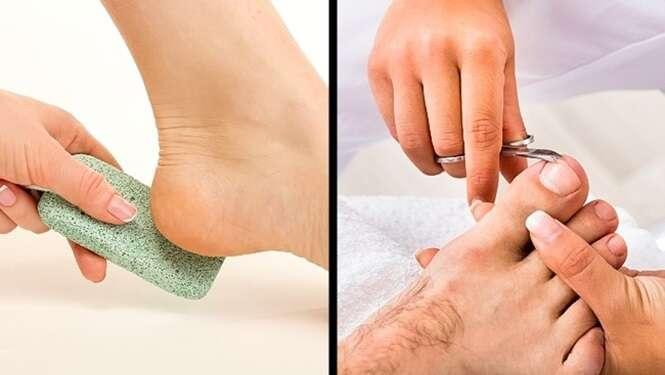 Segredos para acabar com o mau cheiro nos pés