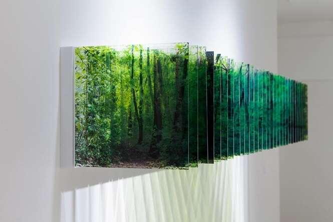 Artista japonês expõe 100 fotos tiradas ao longo do tempo para produzir paisagens multidimensionais fascinantes