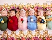Essa sessão de fotos de mini princesas da Disney está conquistando a Internet