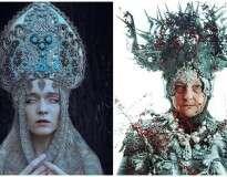 Incrível sessão de fotos revela beleza deslumbrante da cultura eslava