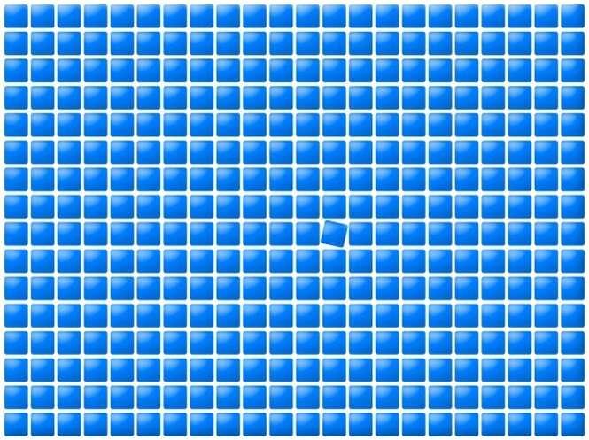 Se você passar neste teste em 10 segundos, significa que tem uma visão única