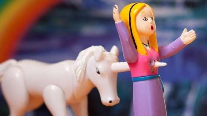 Brinquedos impróprios para crianças