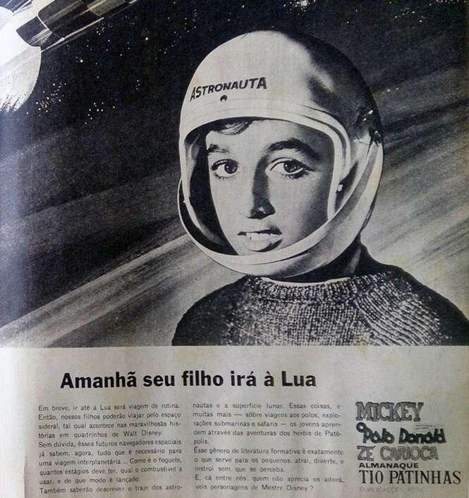 Propagandas da época em que sua avó era jovem