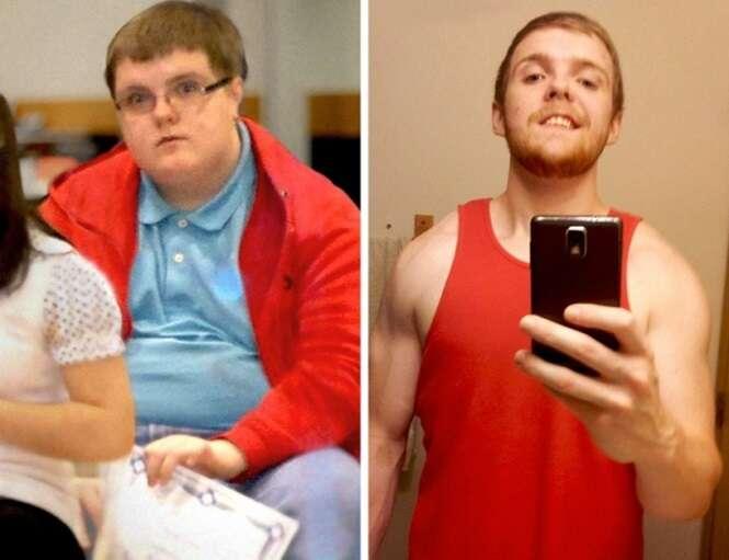 Pessoas comuns que mudaram a aparência completamente