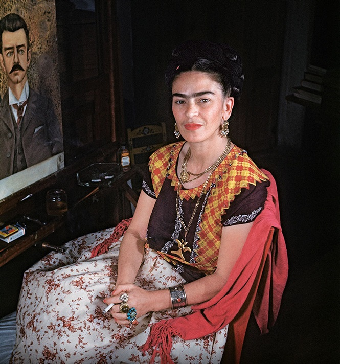 Fotos raras de Frida Kahlo durante os últimos anos de vida