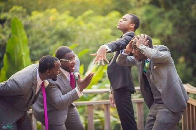 Noivos que mandaram muito bem em suas fotografias de casamento