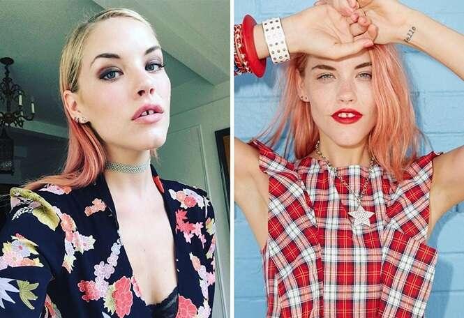 Modelos mostrando que toda mulher é perfeita