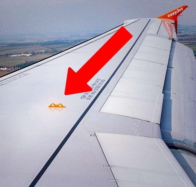 Coisas curiosas em aviões que você provavelmente nunca notou