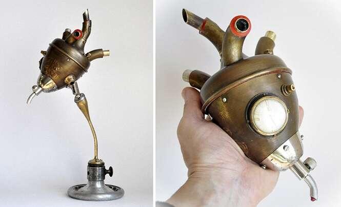 Esculturas surpreendentes criadas a partir de coisas jogadas no lixo