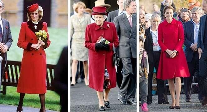 Saiba por que as mulheres da família real usam roupas semelhantes