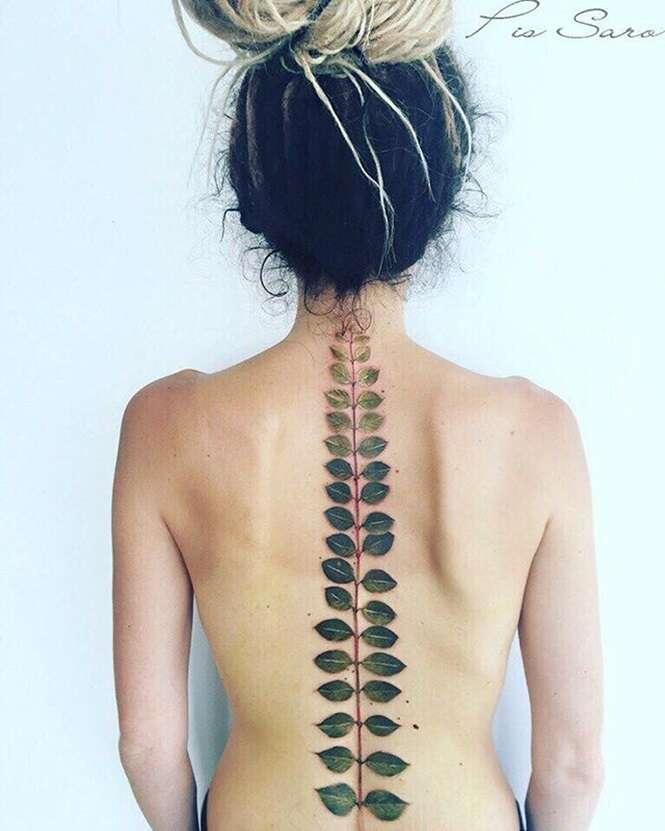 Tatuagens incríveis para quem ama a natureza