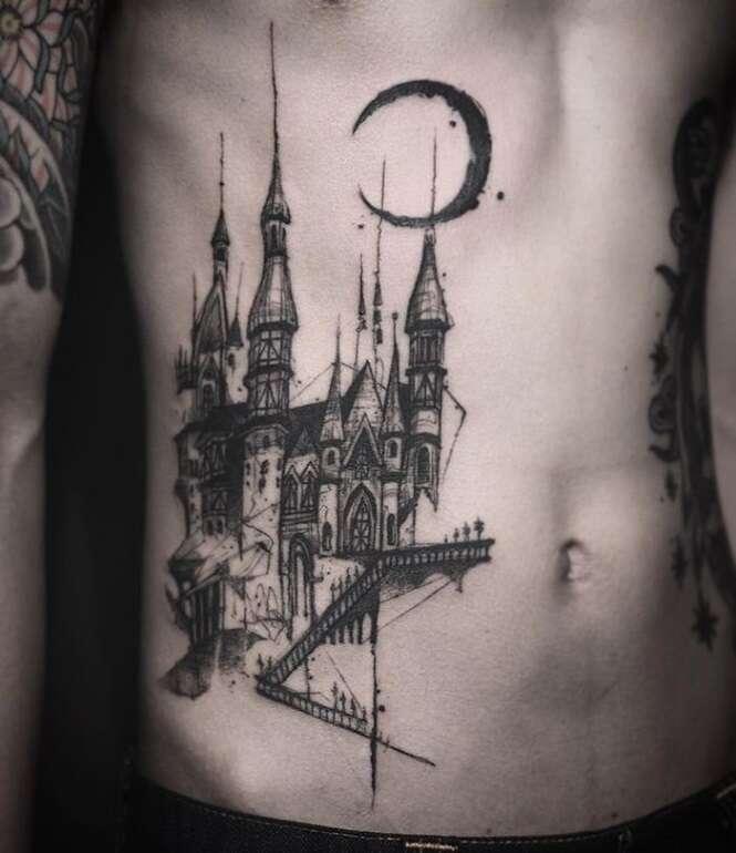 Tatuagens inspiradas em arquitetura que te darão vontade de fazer uma
