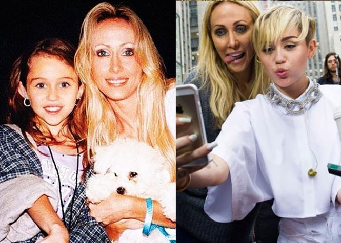 Lindas mães de celebridades