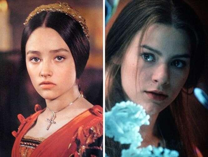 Personagens de livros vividos por atores distintos