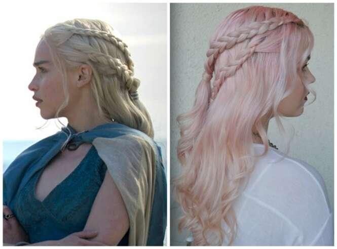 """Penteados sensacionais de """"Game of Thrones"""""""