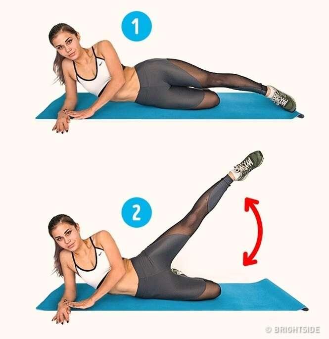 Exercícios que vão lhe ajudar a se livrar da celulite em 15 dias