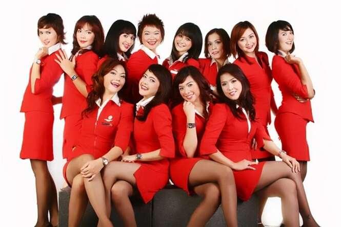 As companhias aéreas que têm as aeromoças mais atraentes