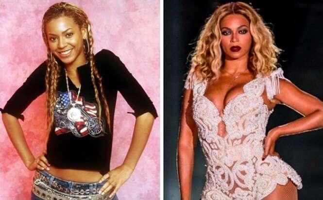 Fotos raras de estrelas pop antes da fama