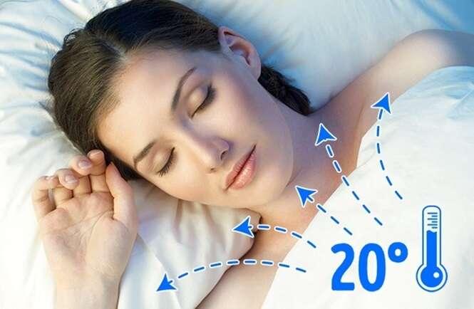 Motivos para dormir sem roupa