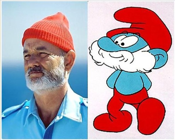 Pessoas idênticas a alguns de nossos personagens animados favoritos