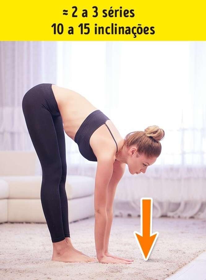 Exercícios para diminuir a gordura localizada na cintura e nas costas