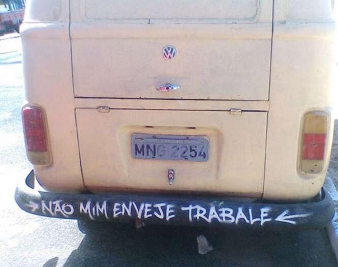 Pessoas que atropelaram a língua portuguesa sem piedade