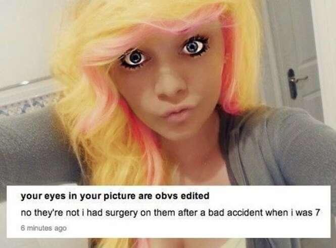 Pessoas que desafiaram a inteligência humana com suas edições no Photoshop