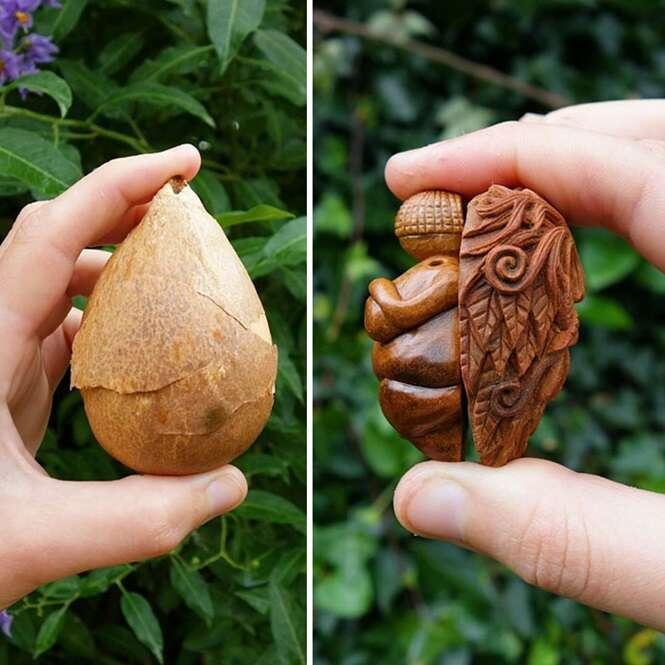Foto:Avocado Stone Faces