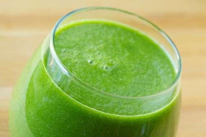 Para se desintoxicar, suco verde
