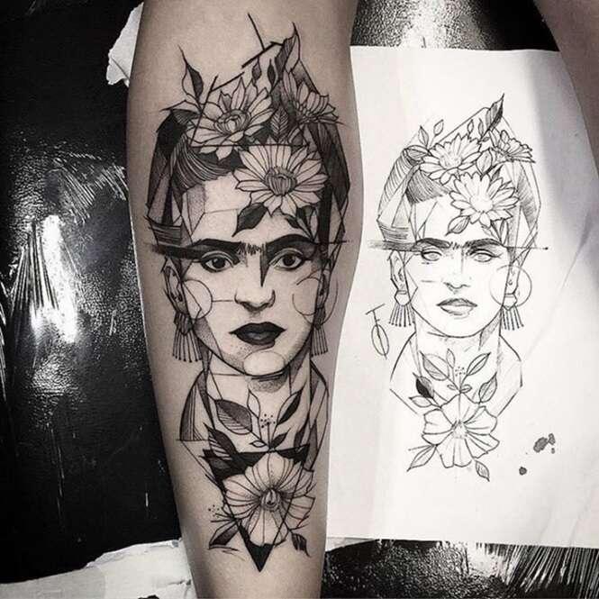 Tatuagens inspiradas em obras de arte que você vai querer na sua pele