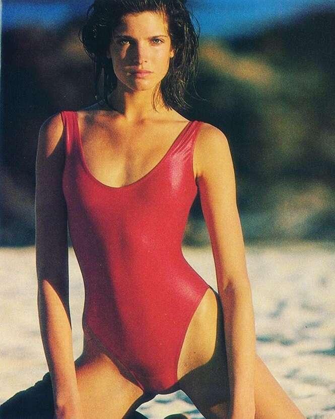 Beleza sem Photoshop: como eram supermodelos 20 anos atrás